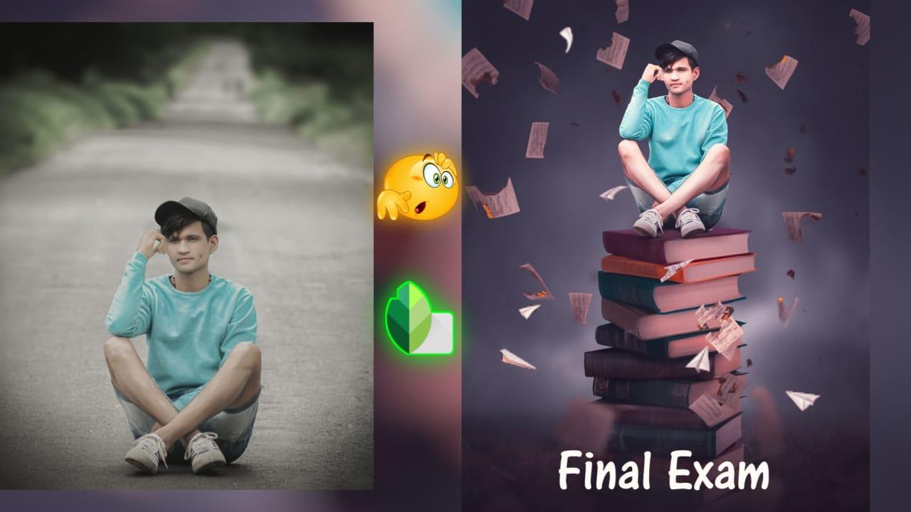 Snapseed exam photo editing