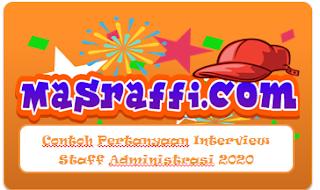 Contoh Pertanyaan Interview Staff Administrasi 2020