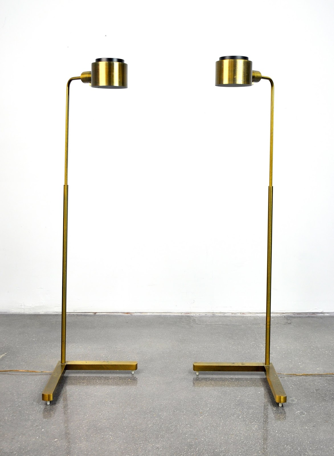 Select Modern Pair Of Casella Pharmacy C1139g Brass
