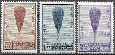 Belgium 1932 Commemoration of Prof. Auguste Piccard