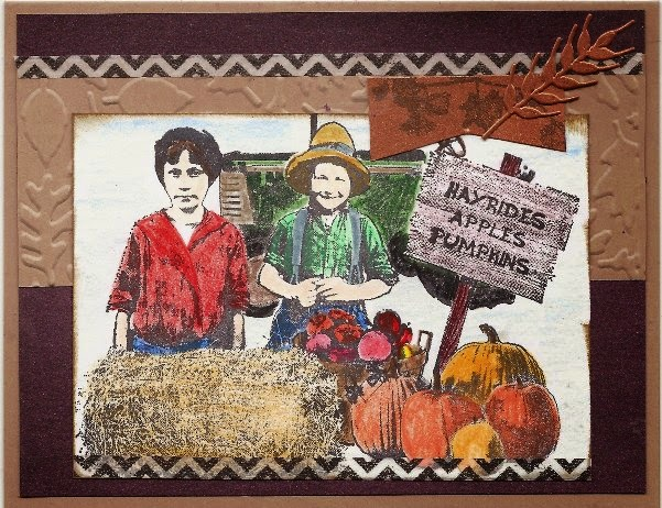 Stamps - Artistic Outpost Hayride