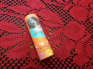 Trifle Cosmetics Lip Parfait Buttery Lip Cream, Guilty Pug, August 2016 GLOSSYBOX, Glossybox US, Subscription beauty box, Invisibobble, Wella, Borghese fango, Mud mask, Flawless skin, trifle cosmetics, too faced cosmetics, Lip cream, Beauty, makeup, beauty review, makeup review, makeup blog, beauty blog, top beauty blog, red alice rao, redalicrao