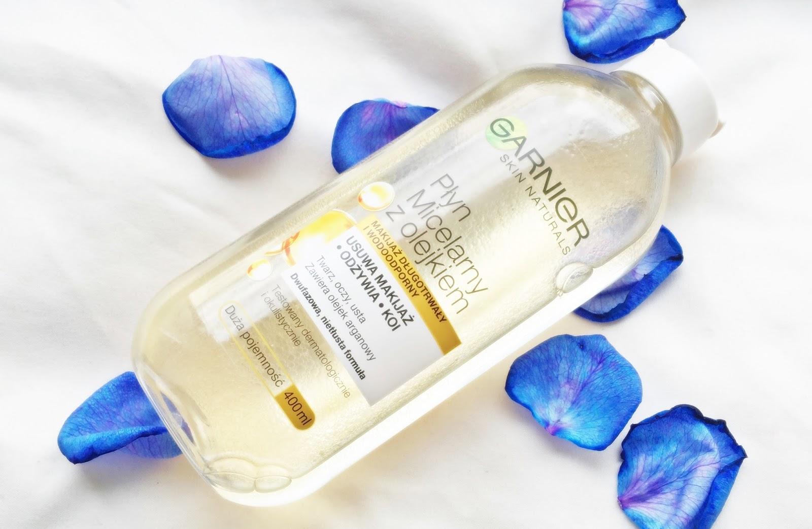 Płyn micelarny z olejkiem Garnier, olejek arganowy beautypediapatt