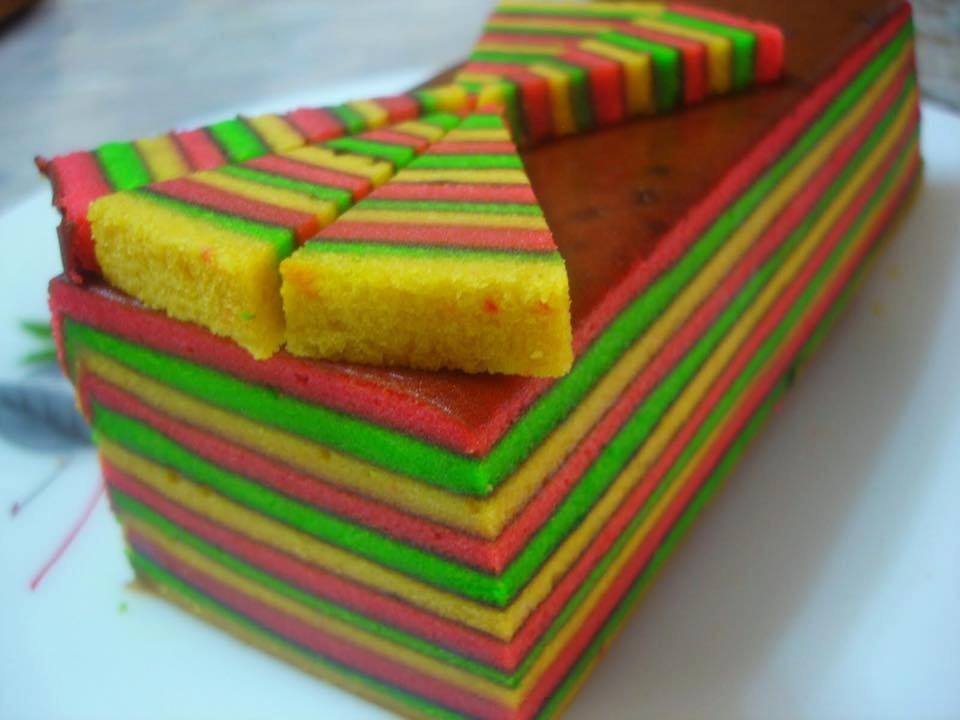 resipi kek lapis sarawak