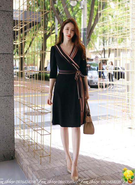 Shop ban vay maxi di bien o Nghia Tan