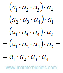The formation of the set. Mathematics For Blondes.
