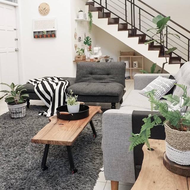 Inspirasi Desain Ruang Keluarga Minimalis Dengan Penataan Yang Simpel