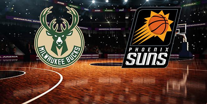 BUCKS AT SUNS (NBA FINALS #5)