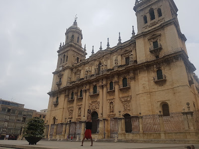 They can't charge me to look at it from a different angle (Cathedral in Jaén)