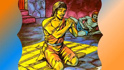 José orando na prisão fidelidade a Deus