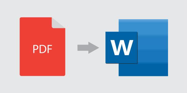 metode untuk mengonversi pdf ke word
