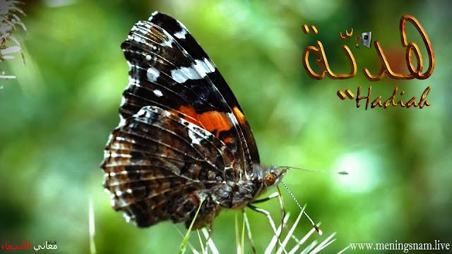 معنى اسم هدية وصفات حاملة هذا الاسم Hadya