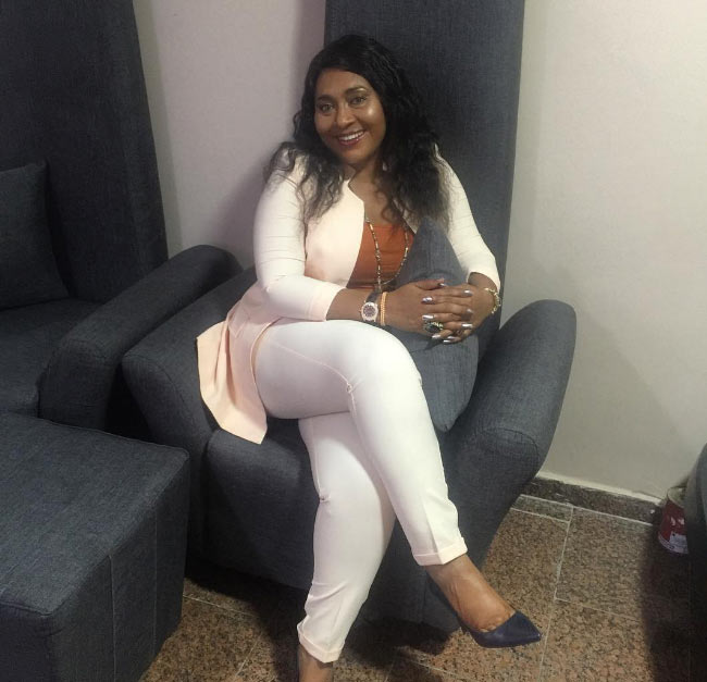Check out new photos of stunning actress Hilda Dokubo