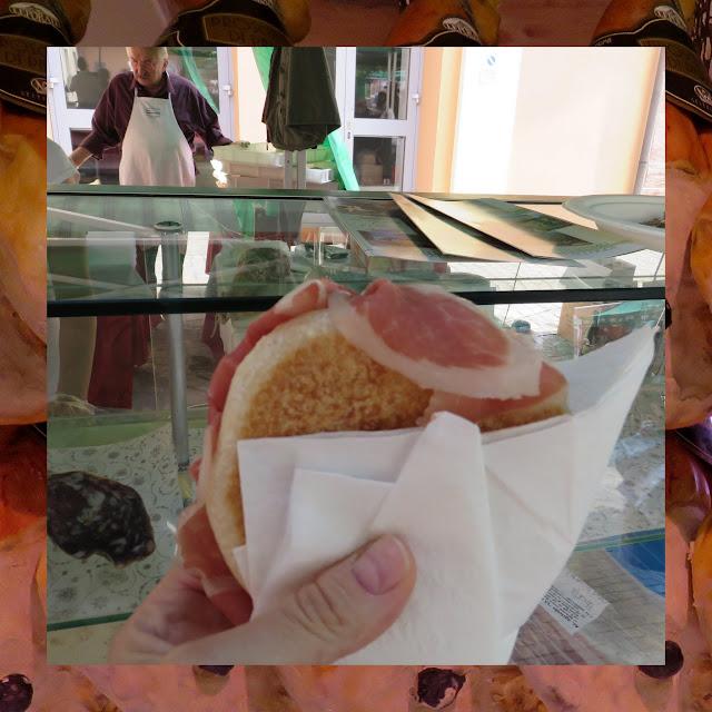 A Food Holiday in Emilia-Romagna Italy - Piadina