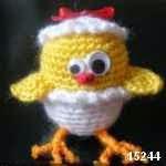 patron gratis pollo amigurumi, free amigurumi pattern chicken