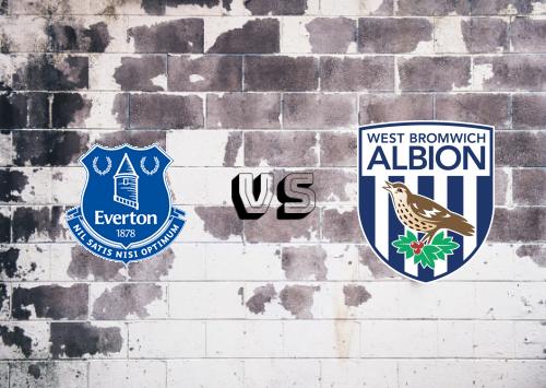 Everton vs West Bromwich Albion  Resumen y Partido Completo
