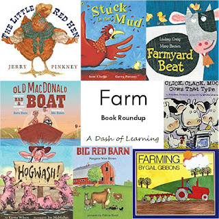 Farm Book Roundup: Farm Themed Children's Books