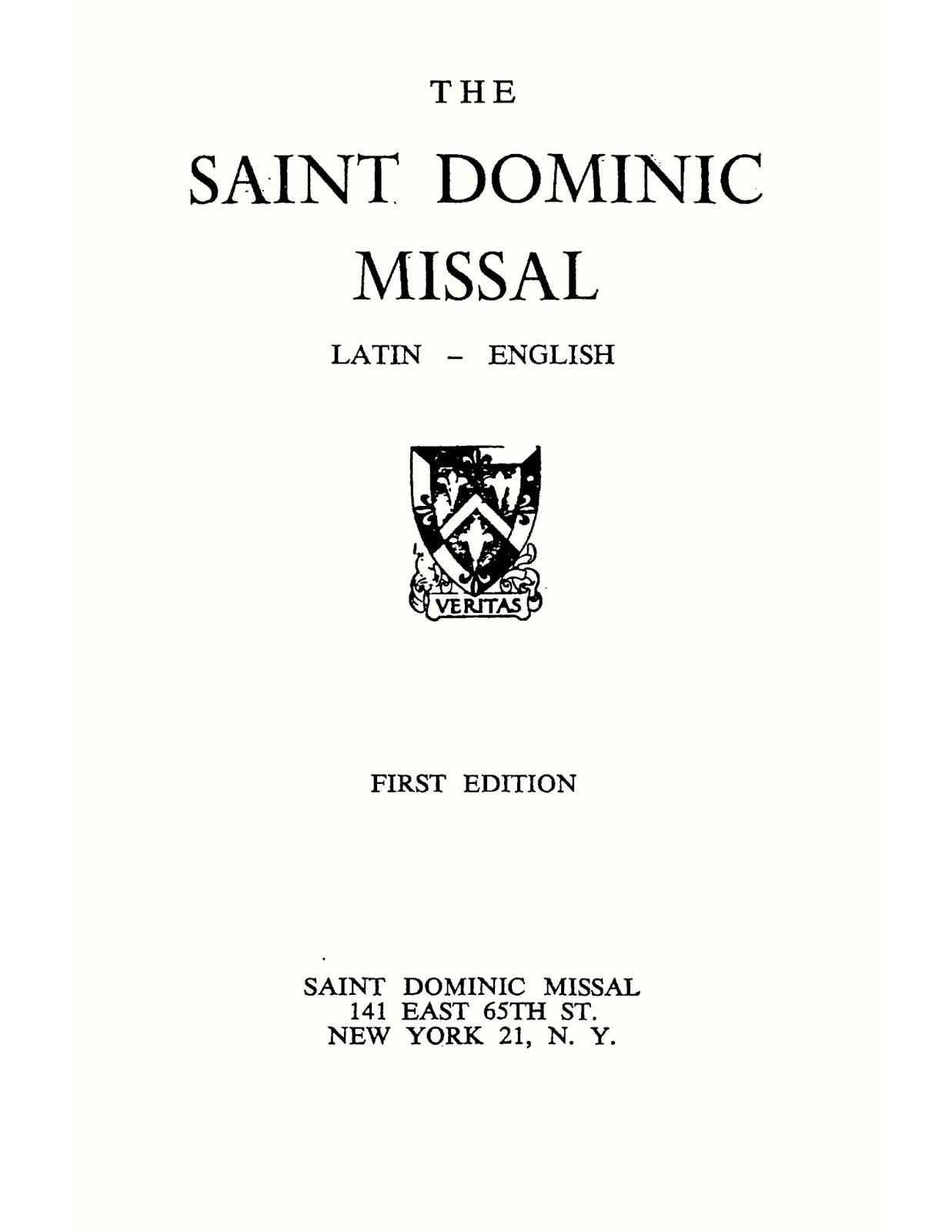 Tridentine Missal Epub