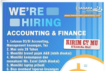 Lowongan Kerja Bandung Accounting Sagara Mobile