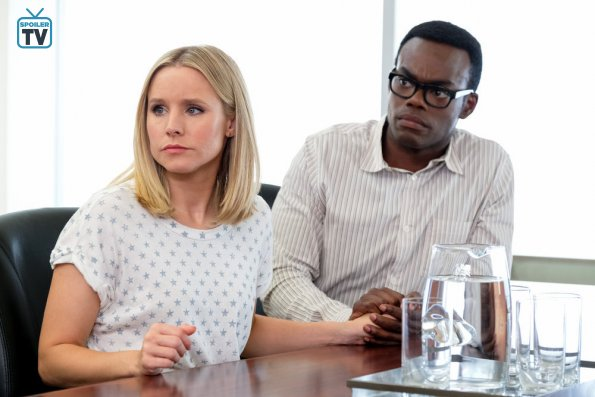 """NUP 183770 0158 595 Spoiler%2BTV%2BTransparent - The Good Place (S03E12) """"Chidi Sees The Time-Knife"""" Episode Preview"""