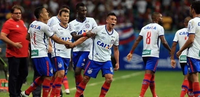 Bahia vence o Bragantino na Arena Fonte Nova, e se aproxima do acesso a Série A