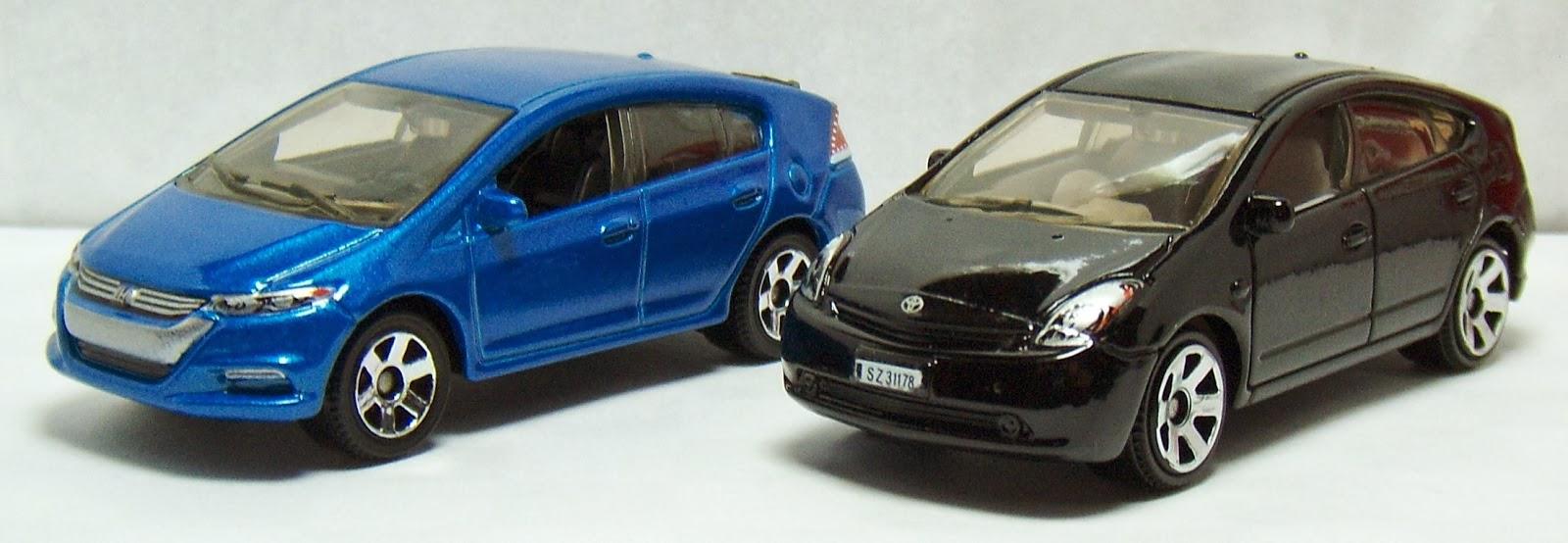 Matchbox Toyota Prius And Honda Insight