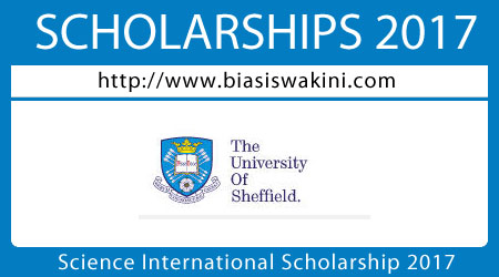 Science International Scholarship 2017
