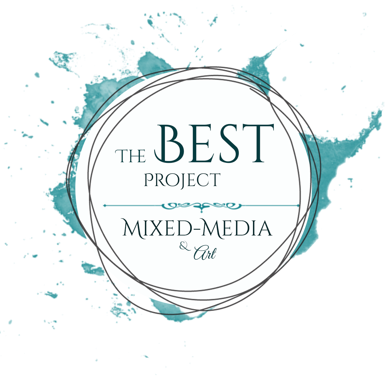 "Best project Mixed media & art joint project ""Creative art"" and October 2017 chall"
