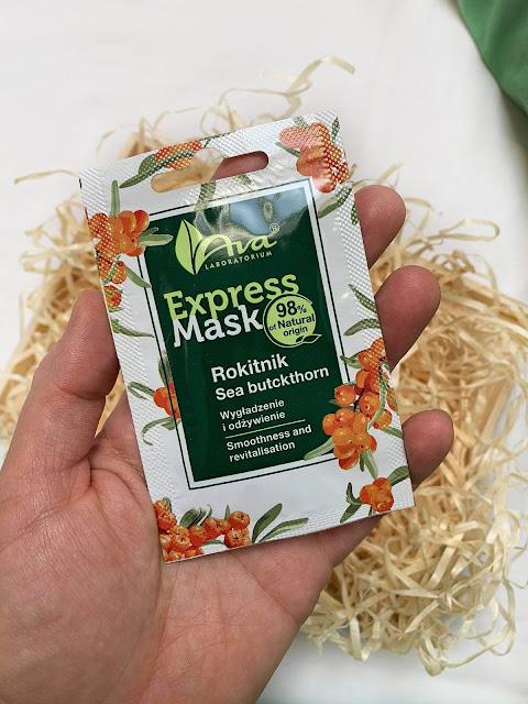 Express Mask - naturalne maseczki do twarzy od Ava Laboratorium