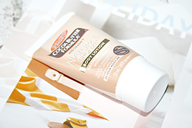 Palmers Cocoa butter natural bronzer lotion