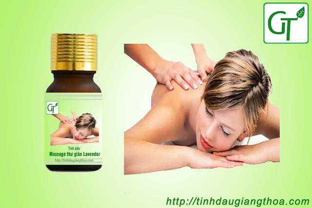 Tinh dầu massage thư giãn - Oải Hương (Lavender)
