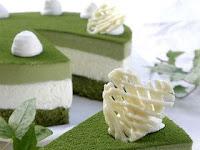 Cara Membuat dan Bahan-Bahan GREEN TEA CAKE Resep Lengkap dan Mudah