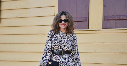 Leopard Print In Town, And Country