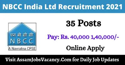 NBCC India Ltd Recruitment 2021