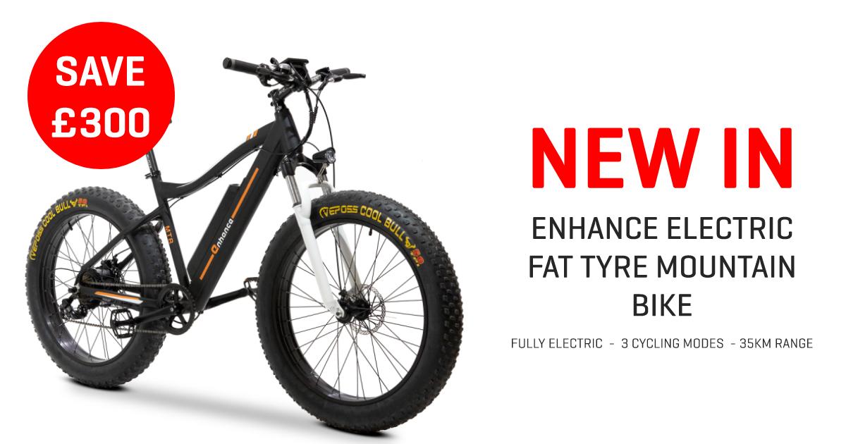 Enhance Electric Mountain Bike