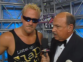 WCW Slamboree 2000 - Mean Gene interviews Jeff Jarrett