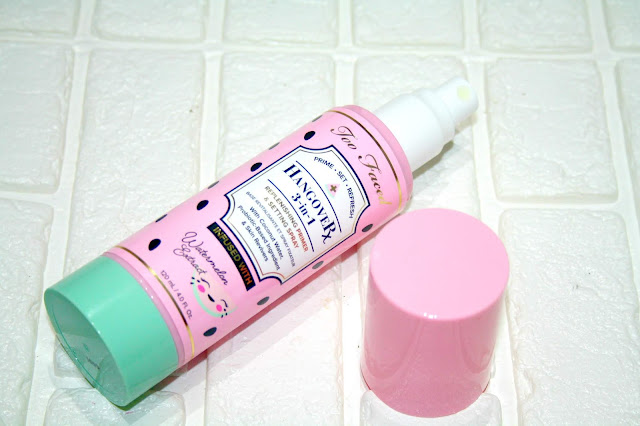 Too Faced Tutti Frutti Watermelon Hangover Setting Spray