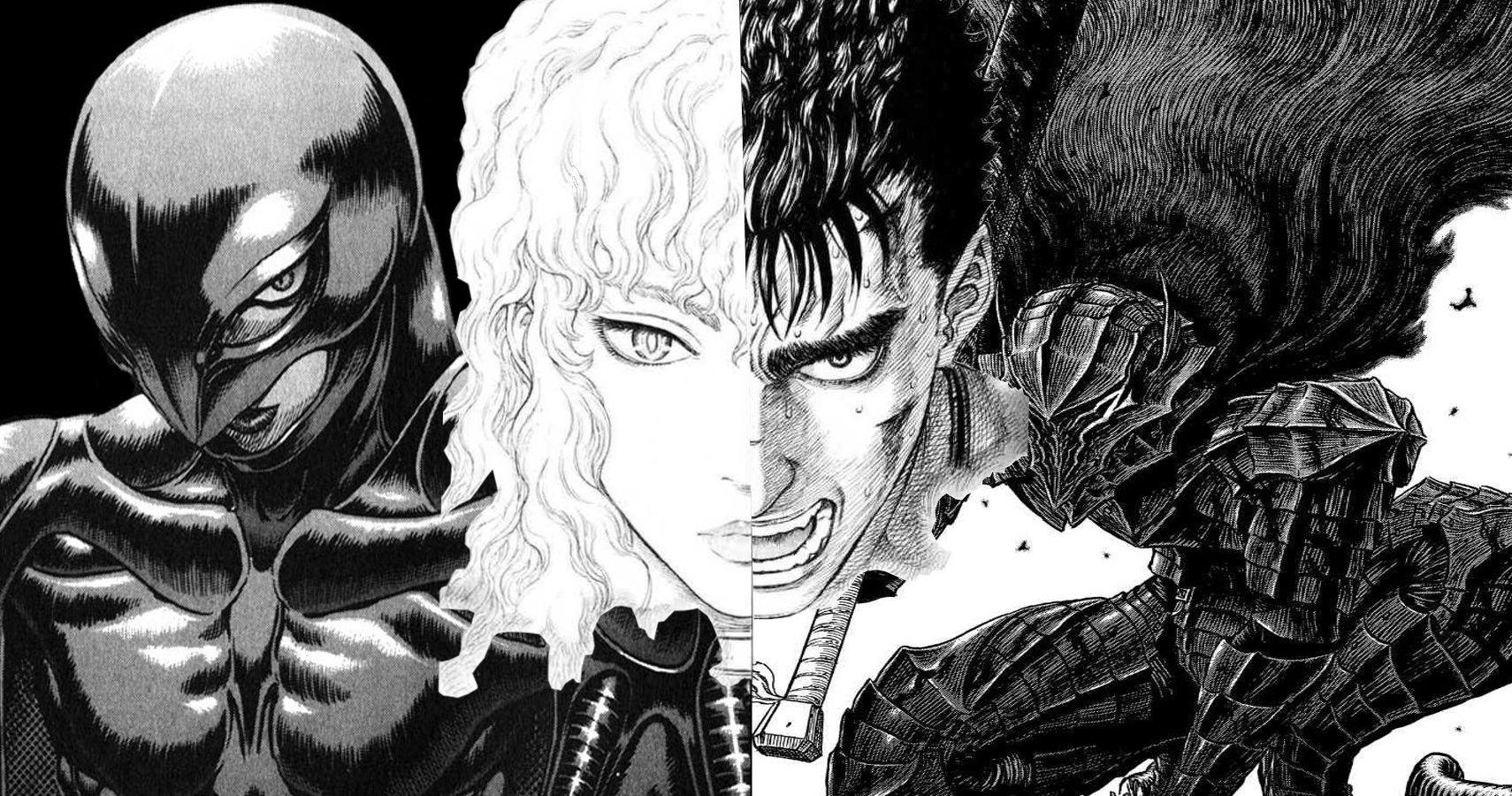 Gatsu Guts Berserk Kentaro Miura storia manga