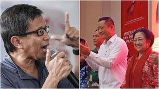Rocky Singgung Juliari Jabat Bendahara PDIP: Pemilu Kemarin Kantong Partai Habis, karena itu Merampok