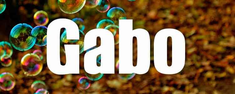Gabo Free Font Download