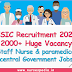 ESIC Recruitment 2021: 2000+ Huge Vacancy for Staff Nurse and paramedical Vacancy central Government Jobs