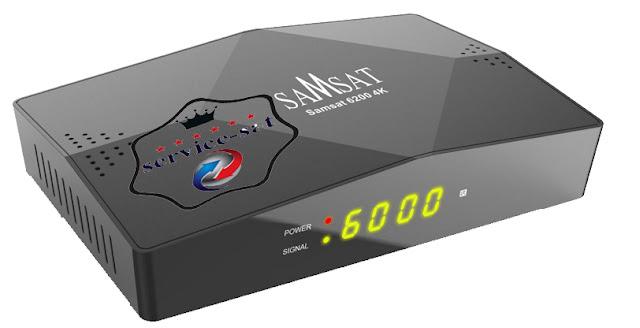 جديد  - Samsat 6200 4K-ترقية سيرفر الفوريفر للنسخة 130- 2020/02/18