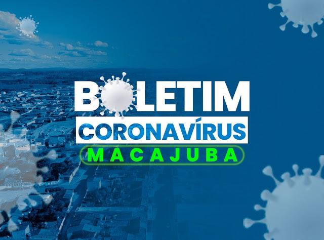 Coronavírus: Veja os dados do boletim deste domingo, em Macajuba