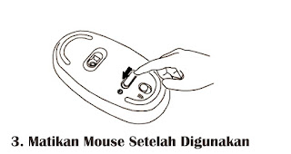 Matikan Mouse Setelah Digunakan merupakan tips agar mouse komputer tidak mudah rusak