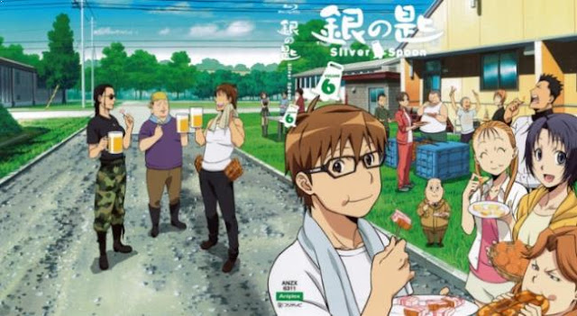 Top Best School Comedy Anime List - Gin no Saji (Silver Spoon)