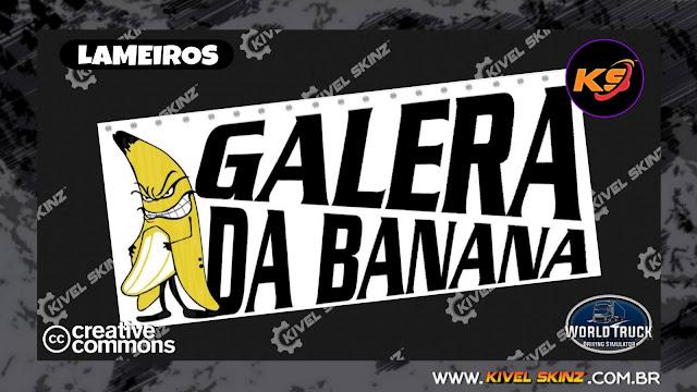 LAMEIROS - GALERA DA BANANA