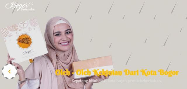 Bogor Raincake - Oleh-oleh kekinian kota Bogor dari Shireen Sungkar