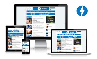 Infinite AMP Responsive Blogger Template, 3 AMP blogger template free 2020, blogger responsive template fully customise