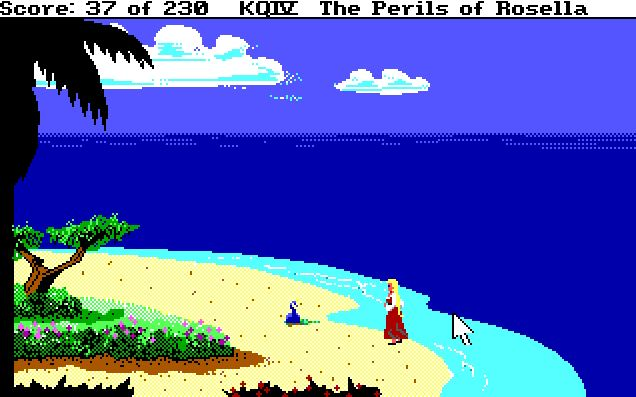 The adventure gamer game 18 kings quest iv grand theft arrow i wonder how many kings quest iv players never found this island fandeluxe Gallery