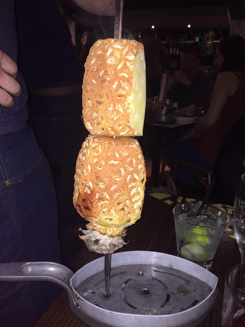 Bossa Grill, Leeds. Pineapple